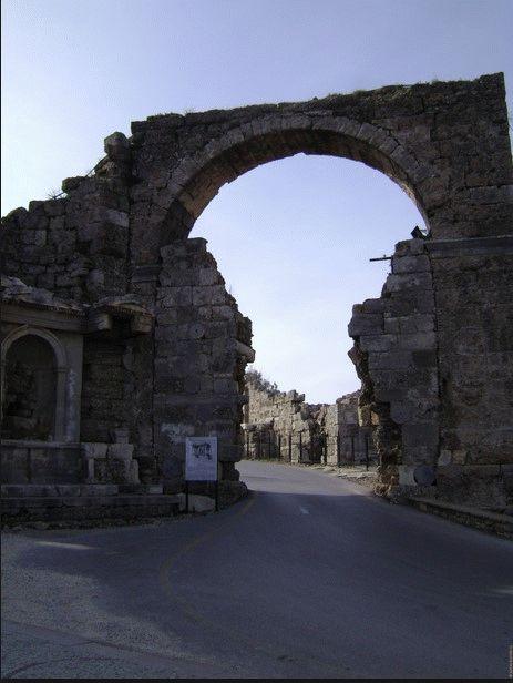 Арочные ворота