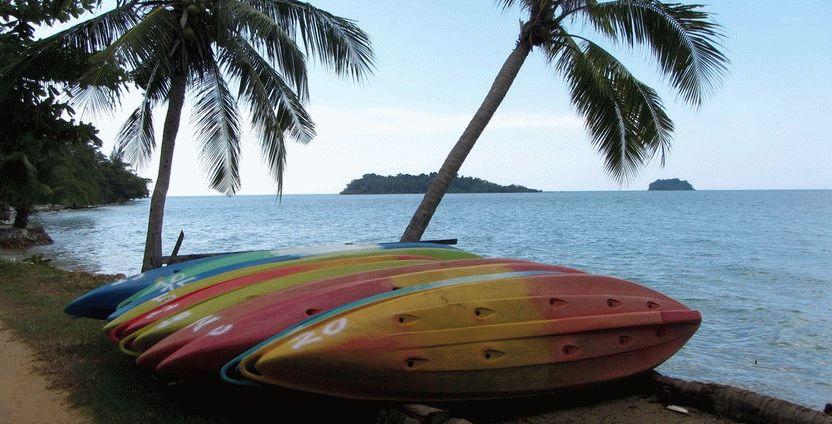 пляж Кай Бай Бич остров Ко Чанг