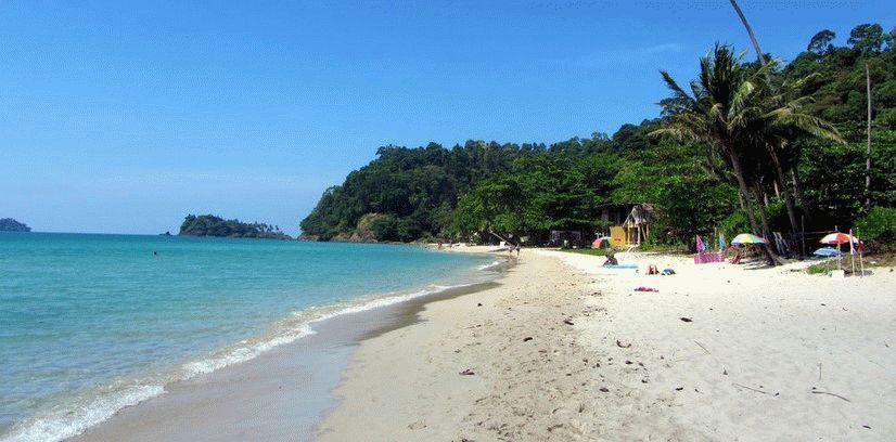пляж Лонели Бич остров Ко Чанг