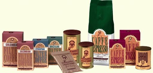 Молотый и ароматный кофе бренда «Махмед Эфенди»