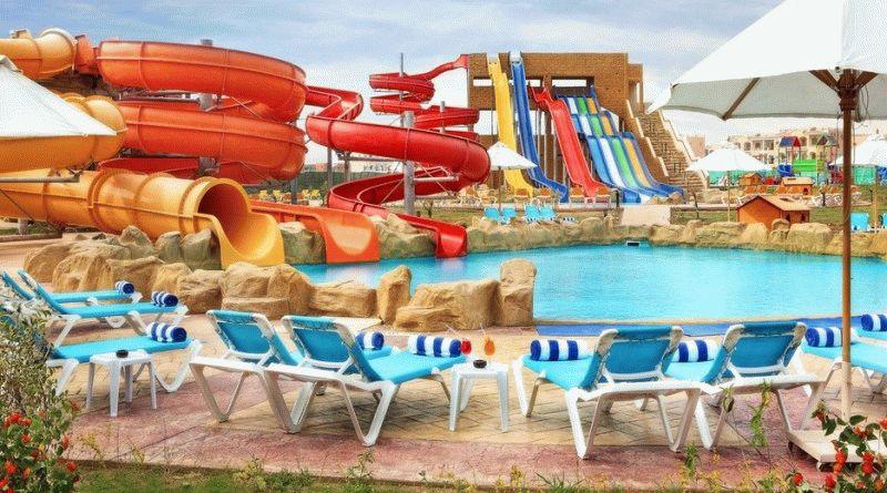 Отели Египта с аквапарком