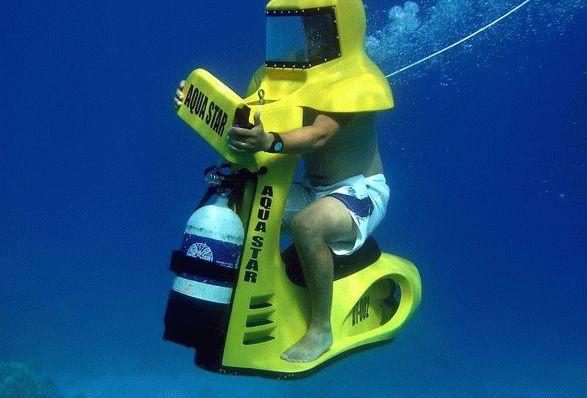 Скутеры под водой Паттайа