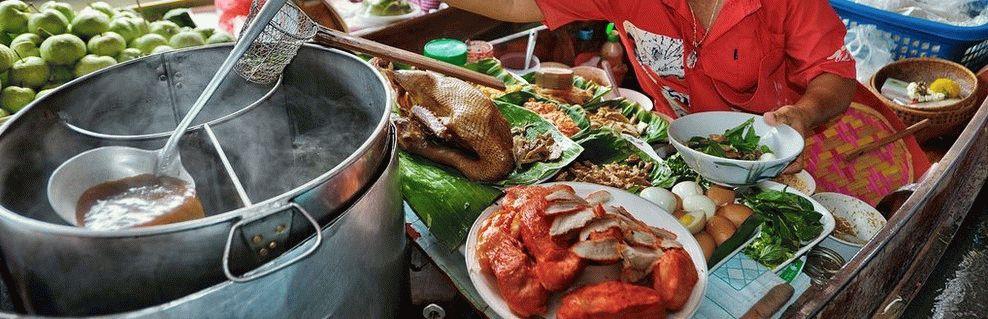 Таиланд еда