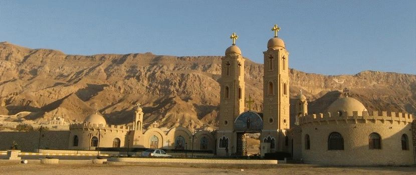 Монастыри Святых Антония и Павла