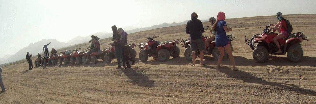 Мото-сафари в Египте