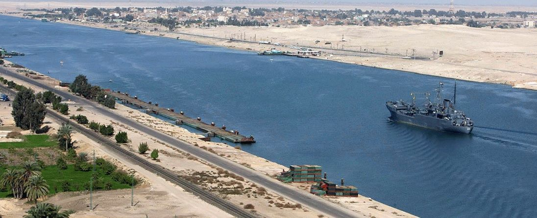 Суэцкий канал Египет