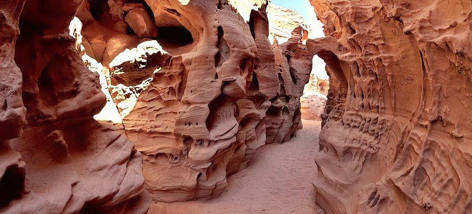 Цветной каньон Египет