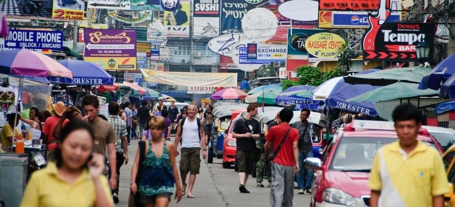 Улица Као Сан