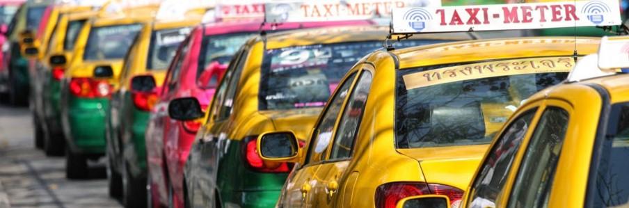 На такси из Бангкока