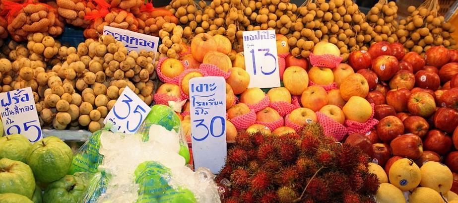 фрукты Пхукета