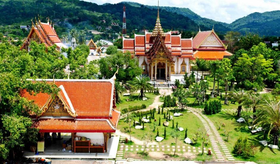 Храм Ват Чалонг на пхукете
