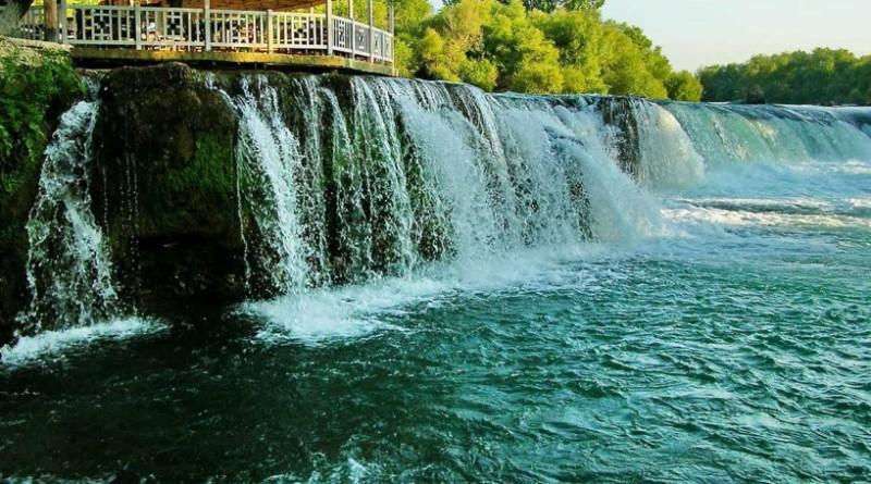Водопад Манавгат в Турции (Мармарис)