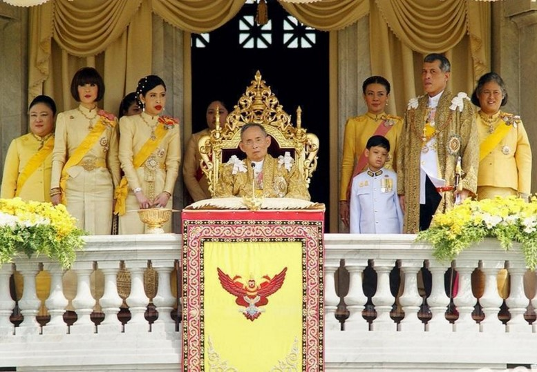 день коронации Короля в Таиланде