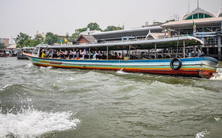 круиз на теплоходе по реке Чаопрайя
