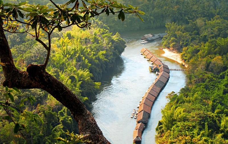 река Квай в Паттайе