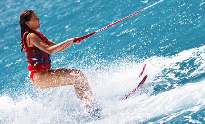 водные лыжи в Паттайе