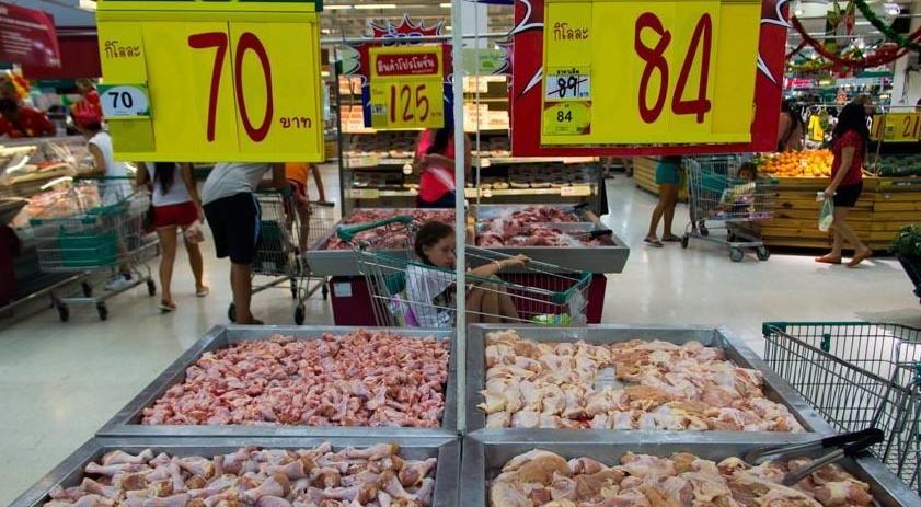 Цены в Паттайе на 2016 год - продукти