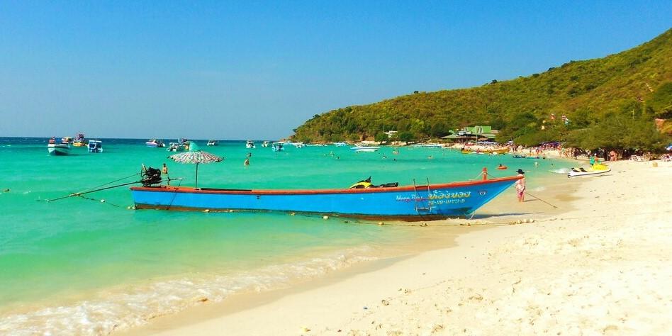 Остров Ко Лан - пляж Тьен