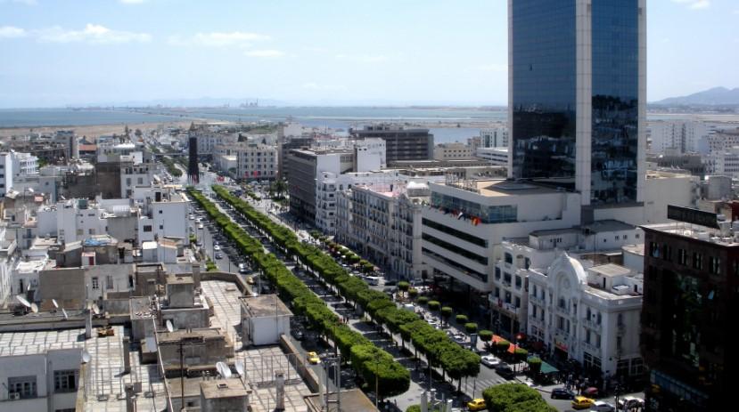 Центр города Туниса