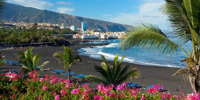 Где лучший пляжный отдых в Испании - Тенерифе