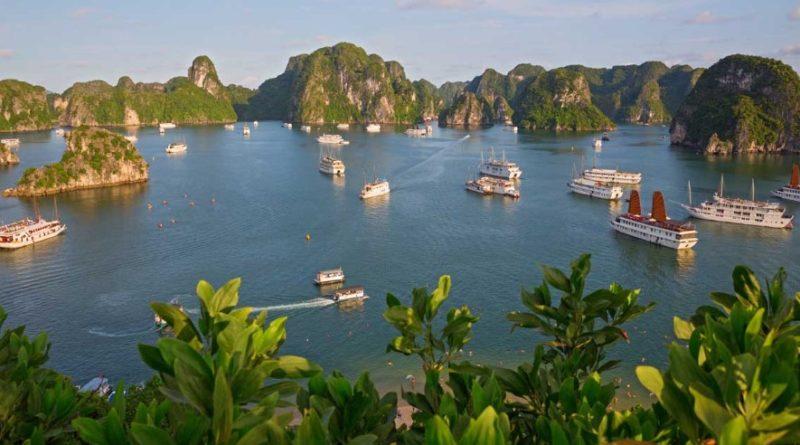Бухта Халонг - Вьетнам