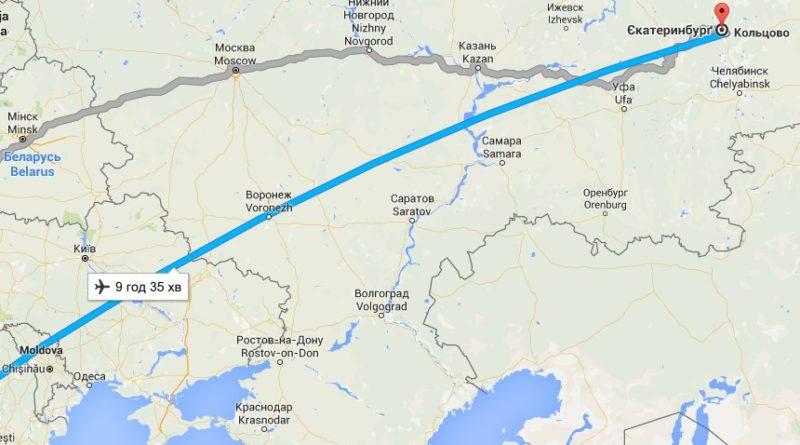 Сколько лететь до Туниса из Екатеринбурга