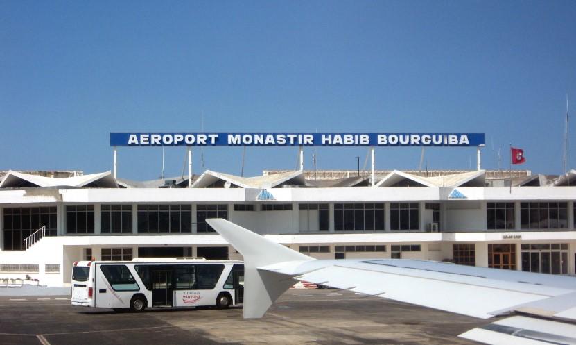 расстояние от аэропорта энфида до монастира