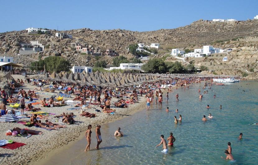 Пляж Миконос