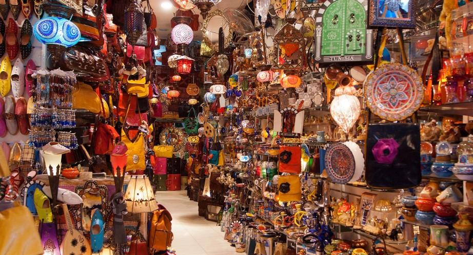 сувениры и покупки в Тунисе