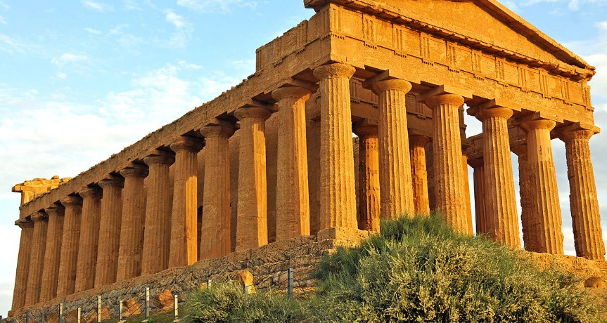 Долина Храмов в Италии