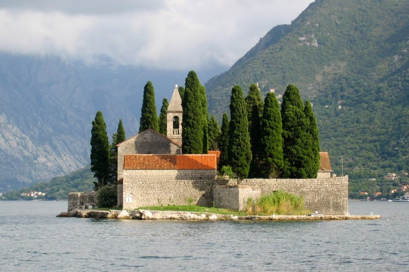 Остров святого Георгия в Черногории