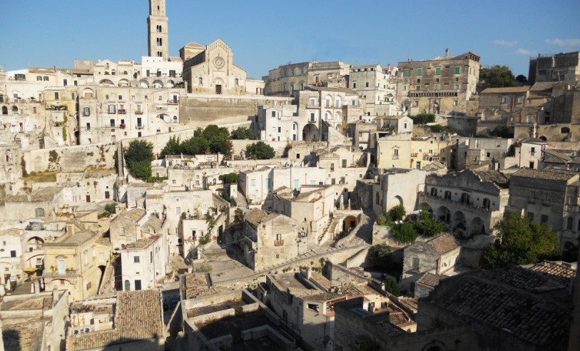 Город пещер в Италии