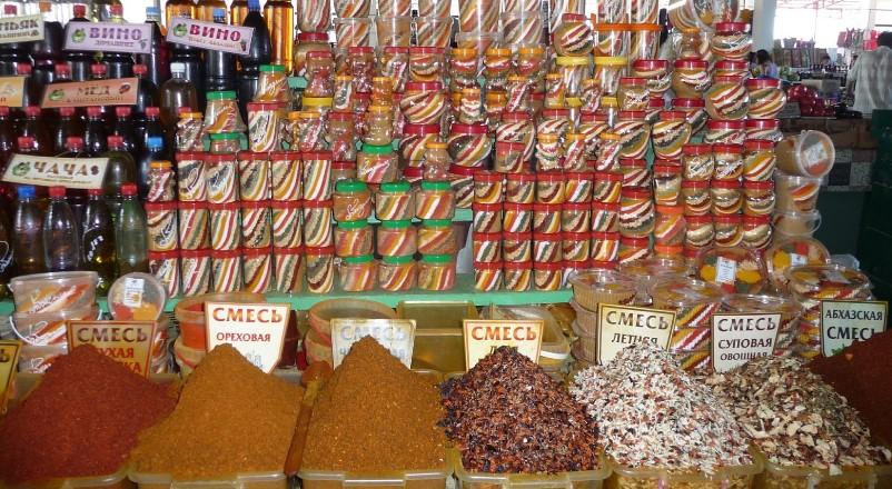 Цены в Абхазии на продукты