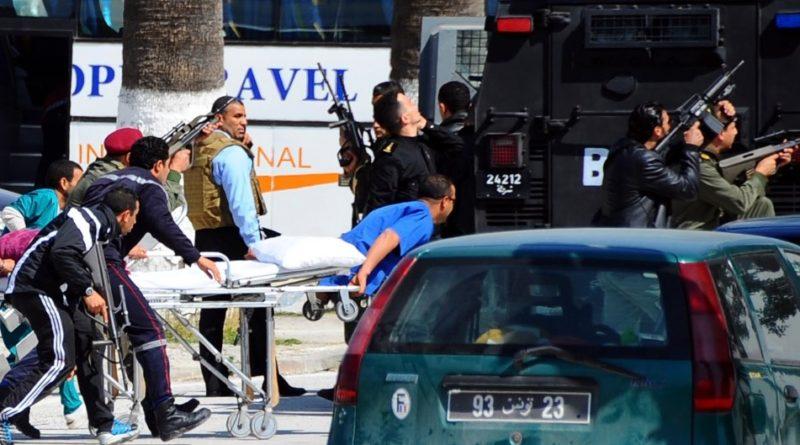 Теракт в Тунисе 2016 на пляже