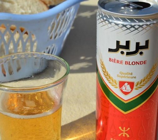 Алкоголь в Тунисе - пиво Berber beer