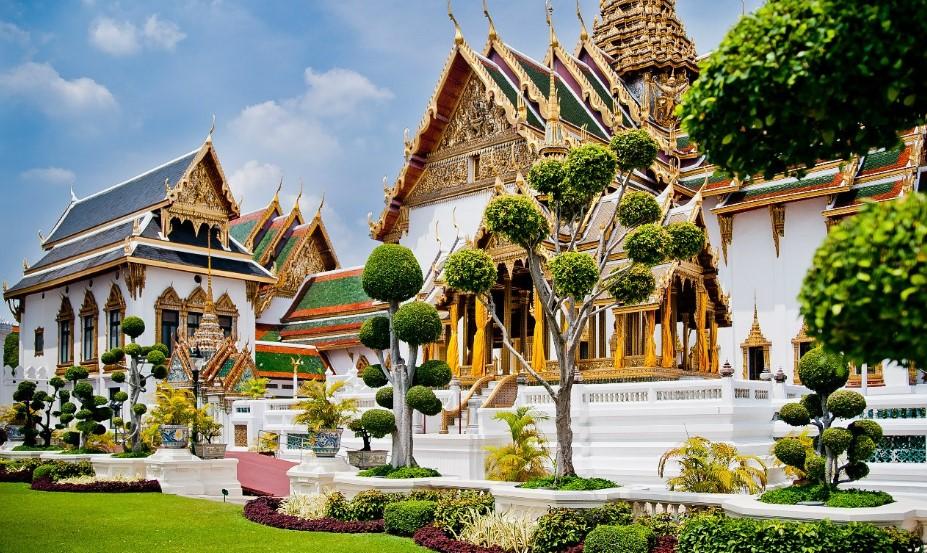 большой дворец в Банкоке