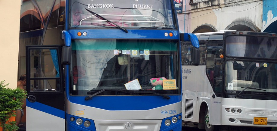 Общественный транспорт на Пхукете