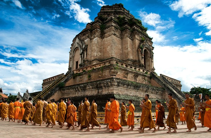 Храм Чеди Луанг в Чианг Мае