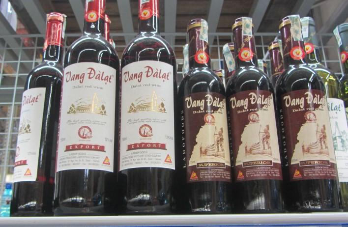 Алкоголь во Вьетнаме - вино Далат
