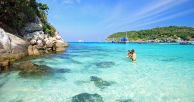 Коралловый остров Пхукета