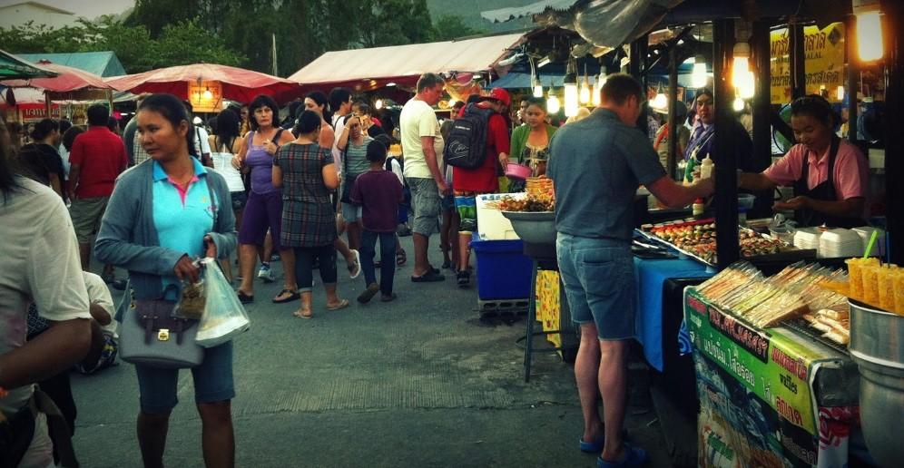 Ночные рынки Пхукета