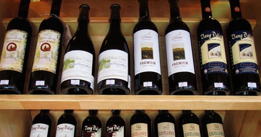 Алкоголь во Вьетнаме - Вино