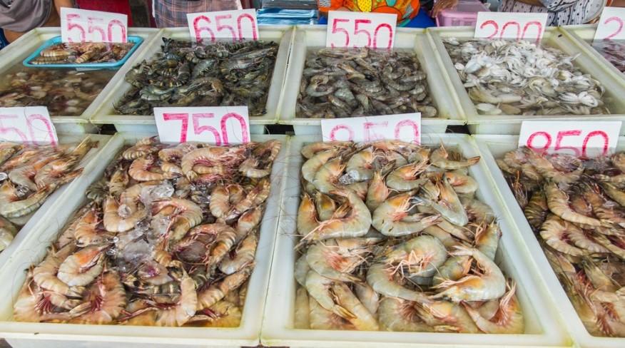 Рыбный рынок на Раваях (Пхукет)