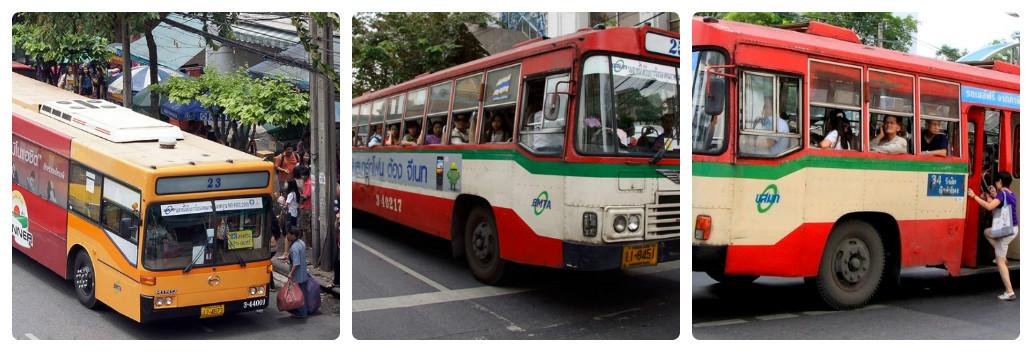 Автобусы Банкока