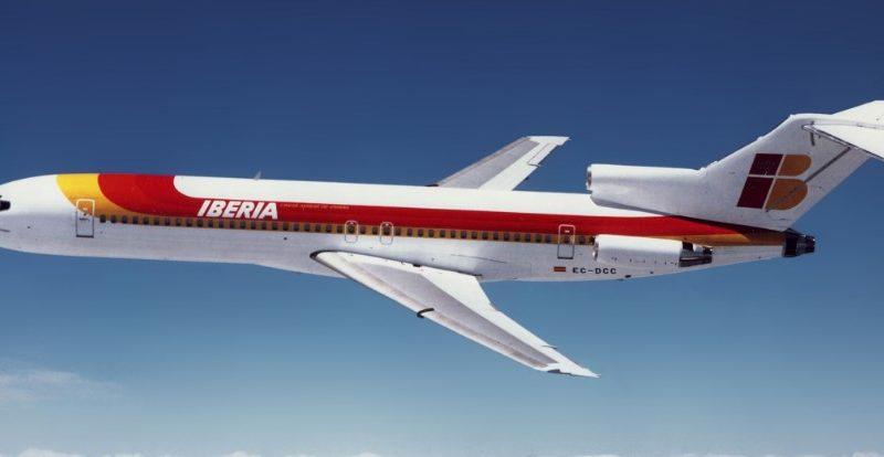 Боинг 727 - схема салона