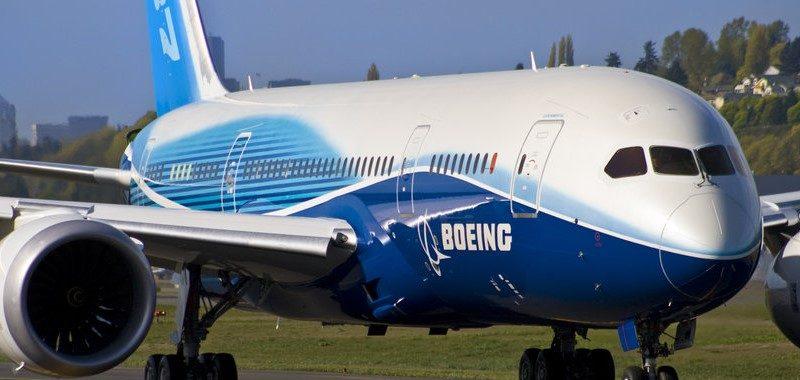 Боинг 787 800 - схема салона