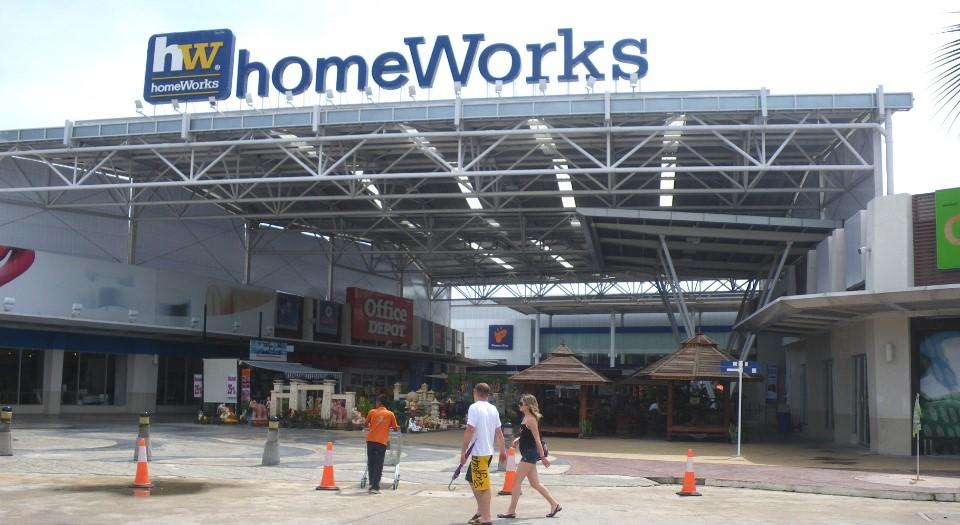 Торговые центры Паттайи - Home Works