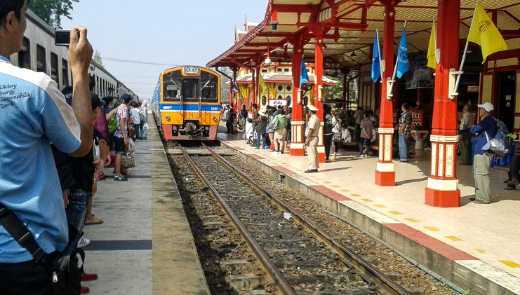 Как добраться до Самуи из Бангкока - поезд