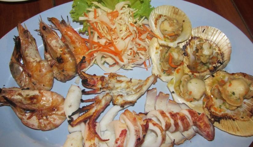 Кухня Тайланда - морепродукти