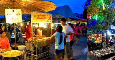 Ночной рынок на Пхукете - Naka Market